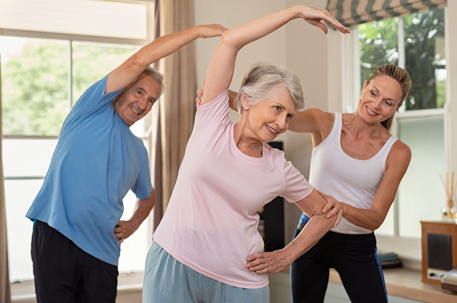 The Benefits of Stretching Exercises for Seniors and Elderly Adults