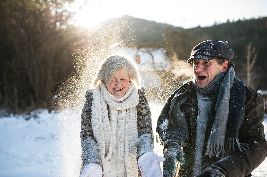 Persons With Disabilities Can Keep Active in Cold Weather